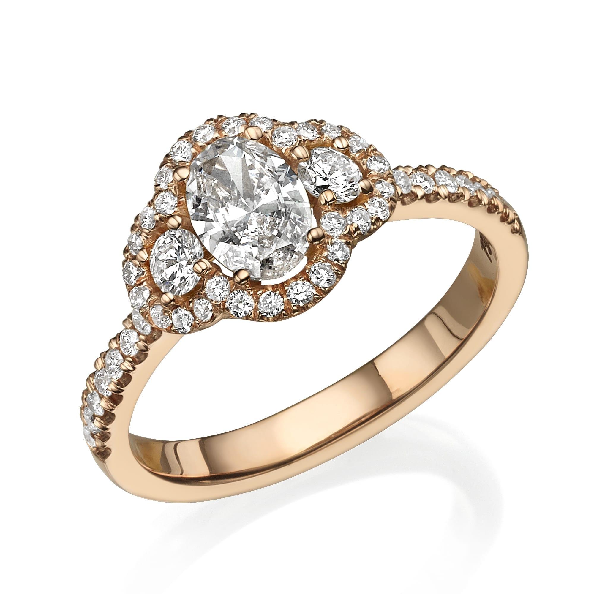 טבעת יהלומים דגם Netta