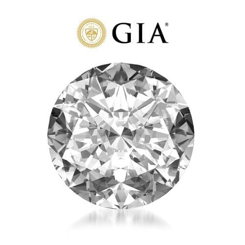 יהלום עגול במשקל 1.01 קראט F\VS1 GIA