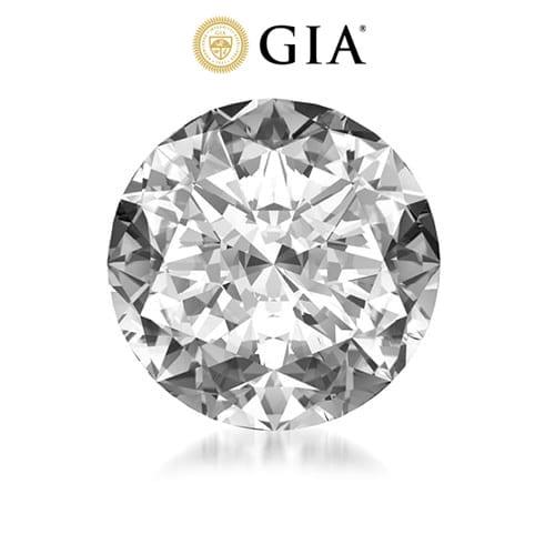 יהלום עגול במשקל 1.0 קראט D\VS1 GIA