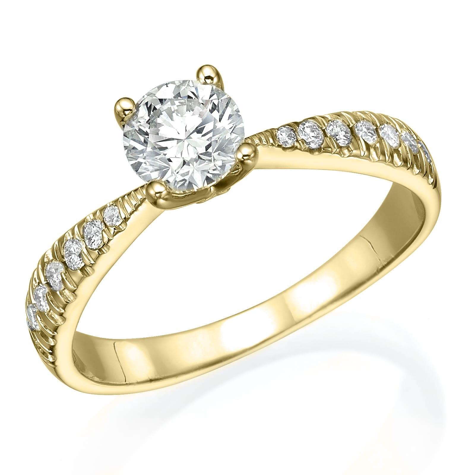 טבעת אירוסין דגם Cindy