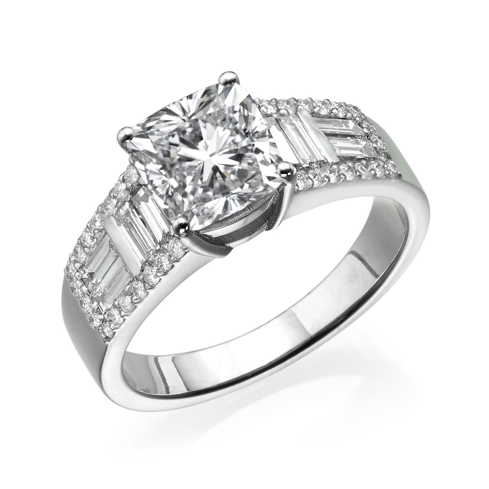 טבעת יהלומים דגם Sienna