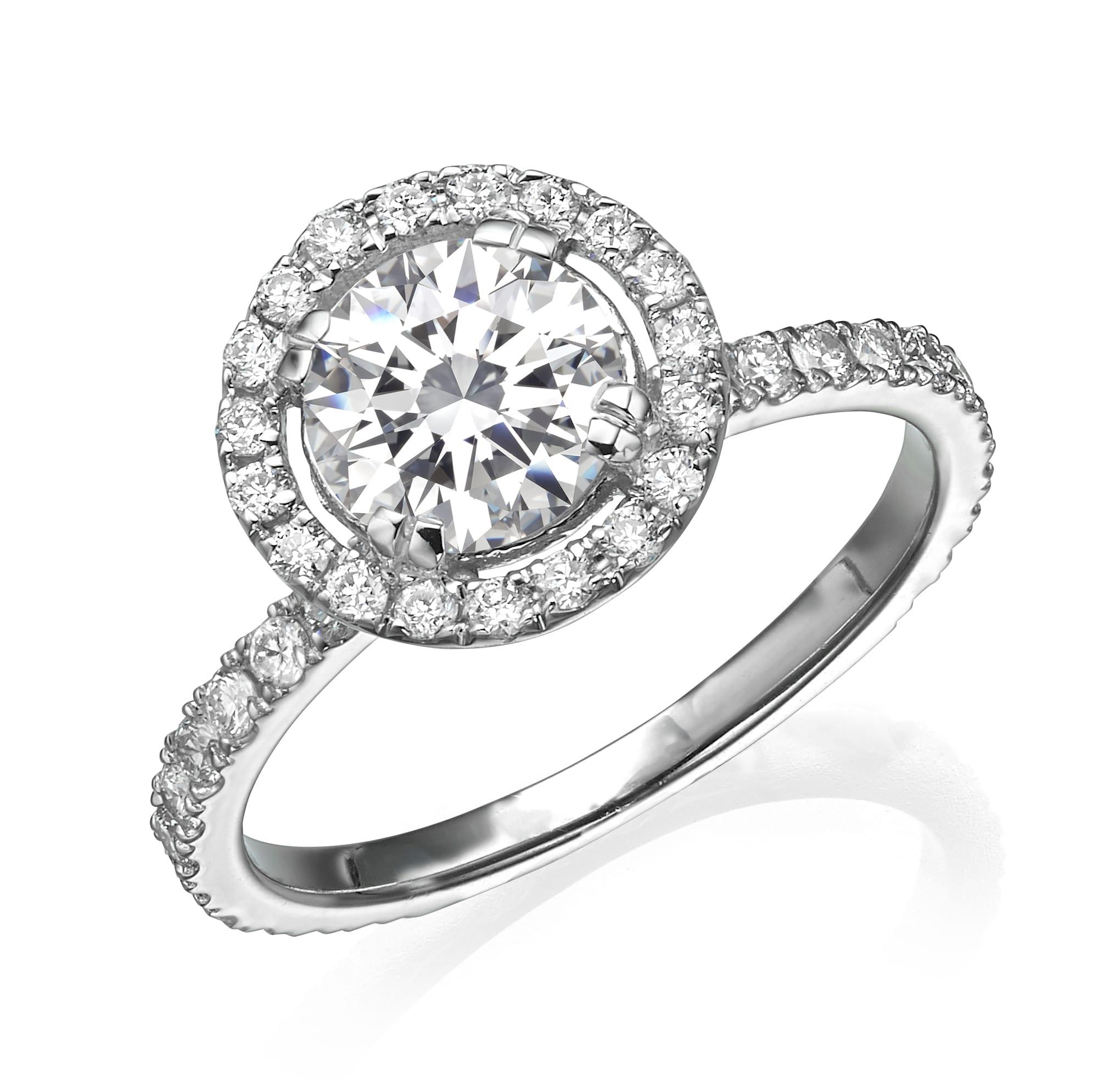 טבעת אירוסין 1.72 קראט!