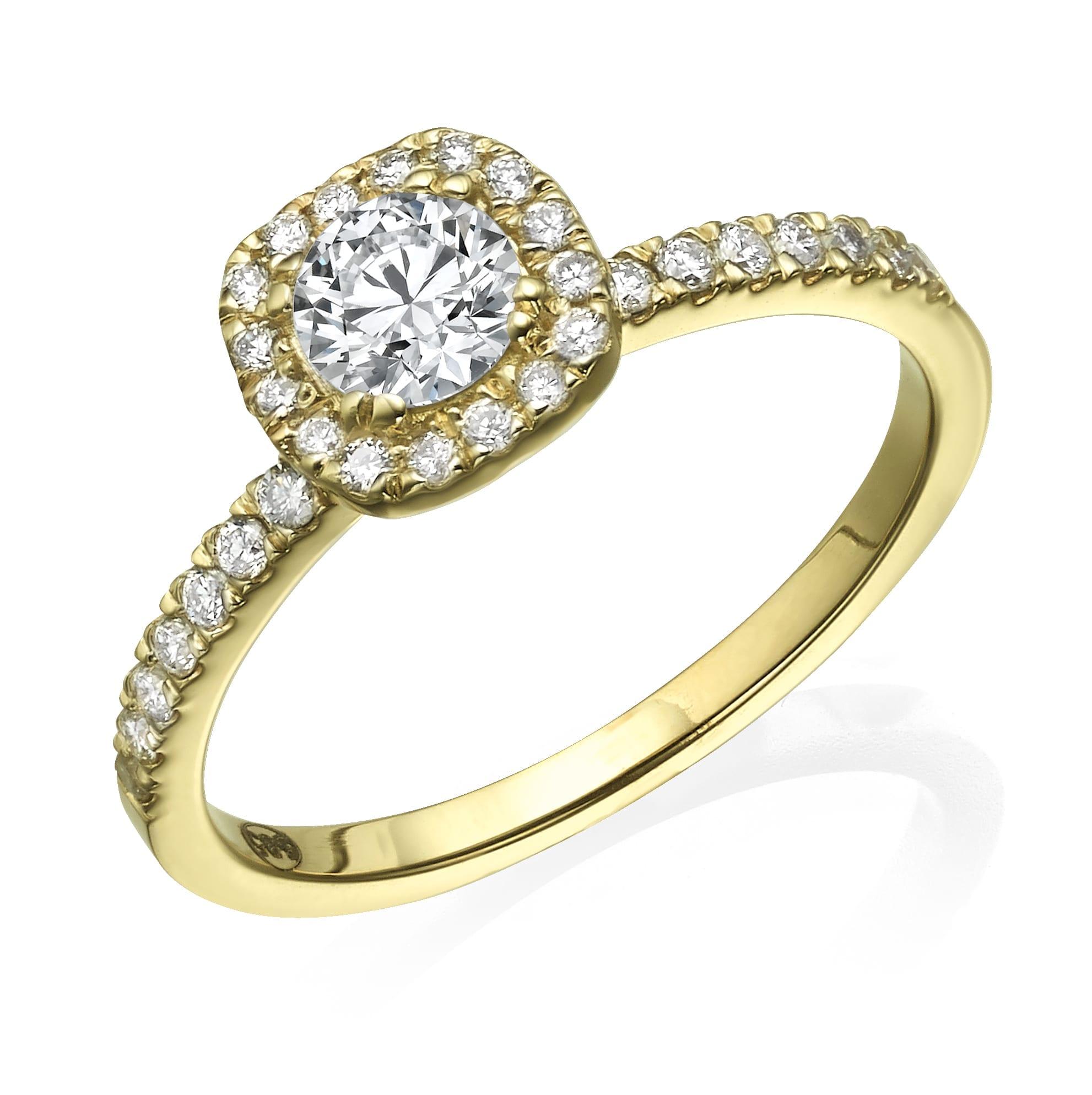 טבעת אירוסין דגם Annabelle