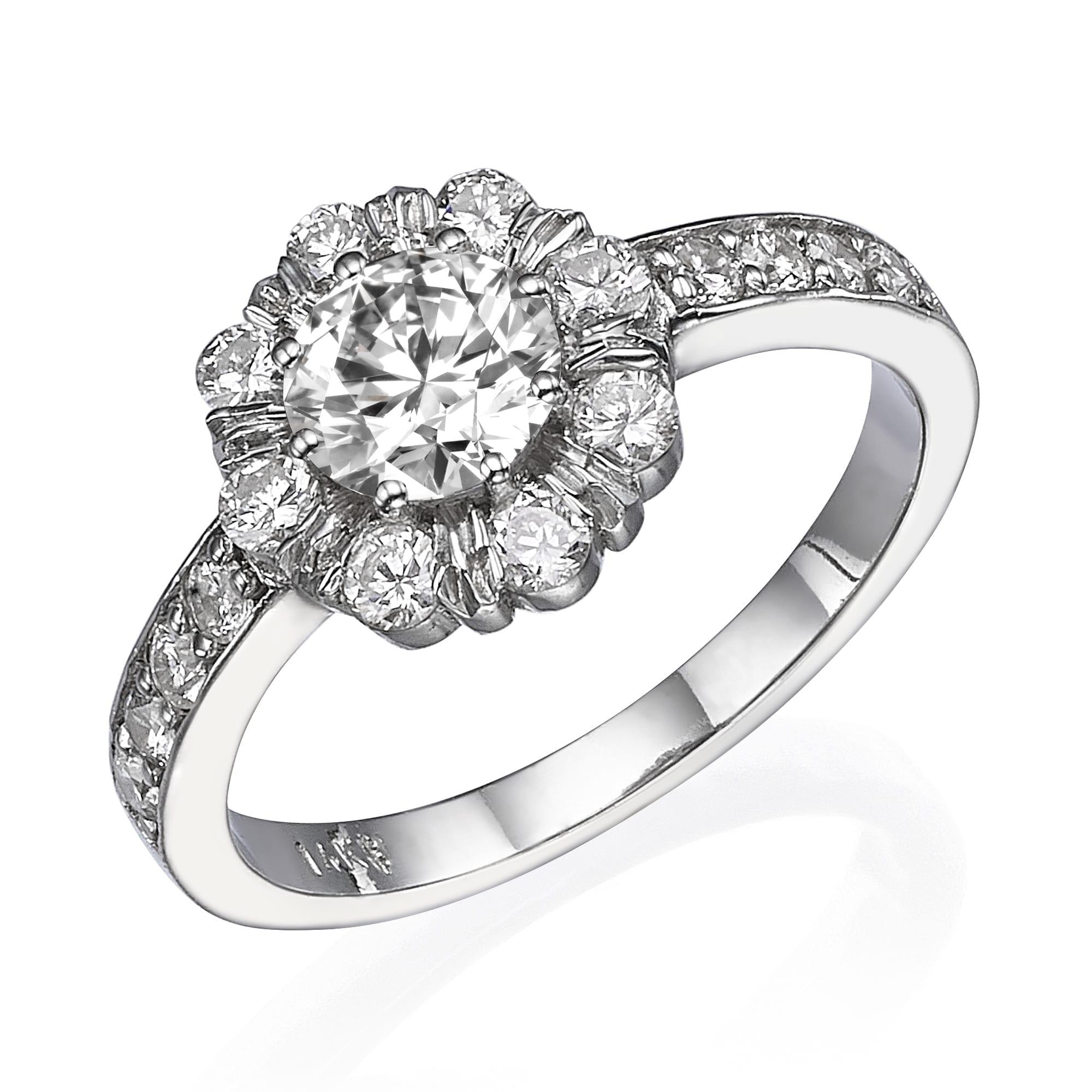 טבעת אירוסין דגם Abigail