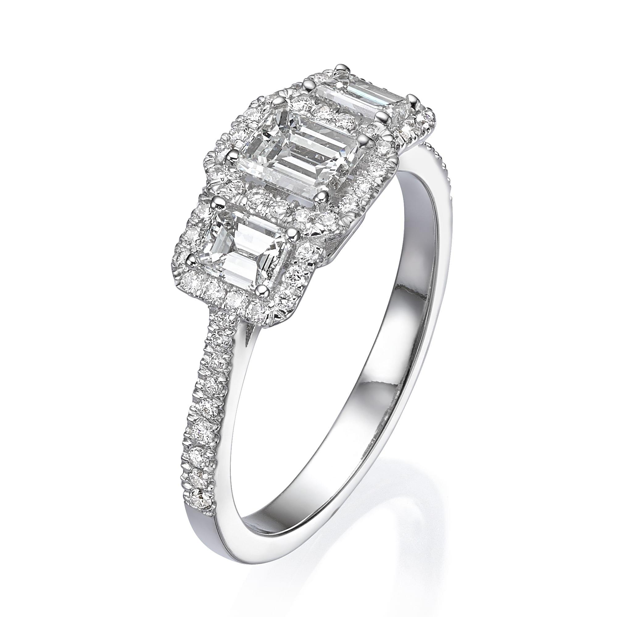 טבעת יהלומים דגם Taylor