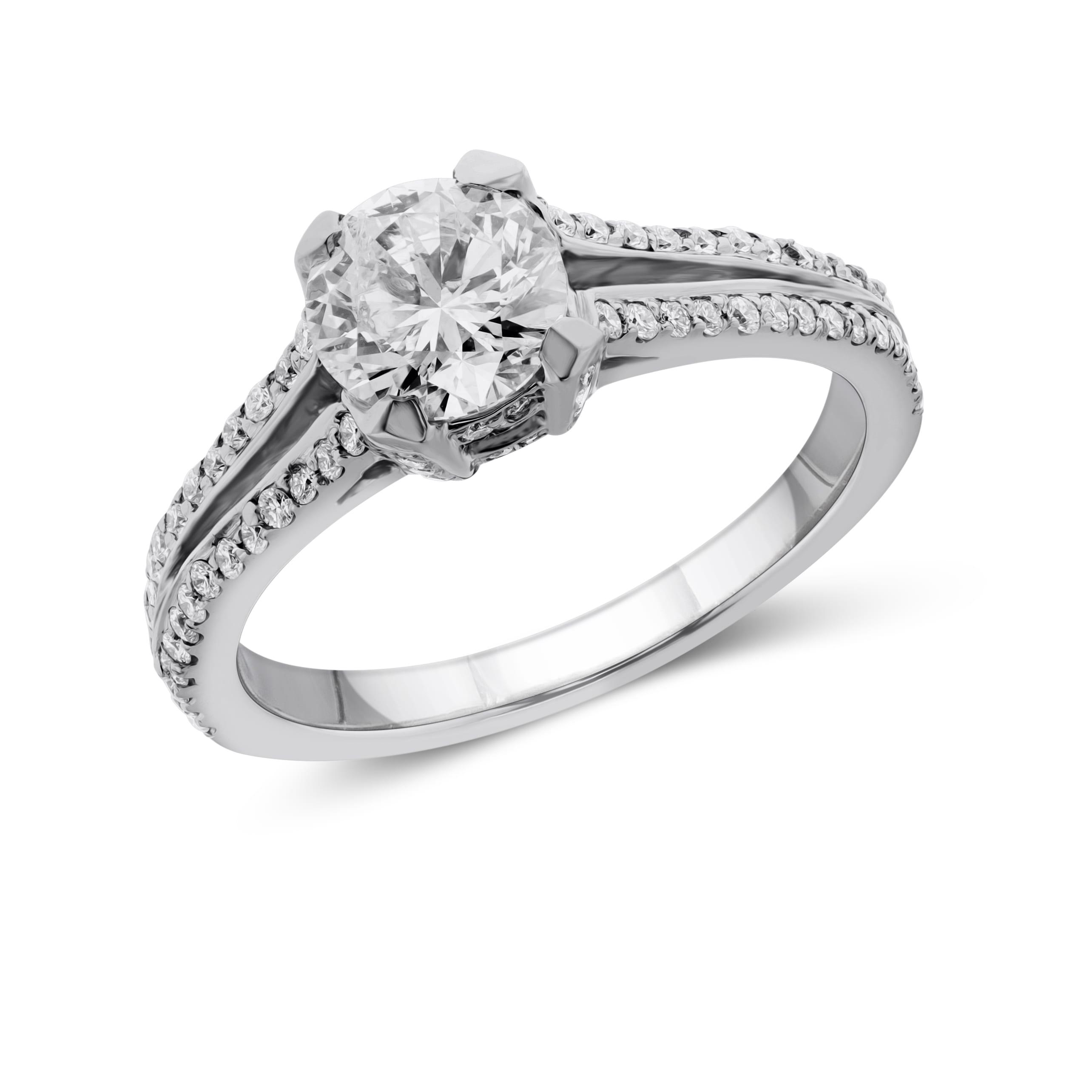 טבעת יהלומים יוקרתית דגם Gal