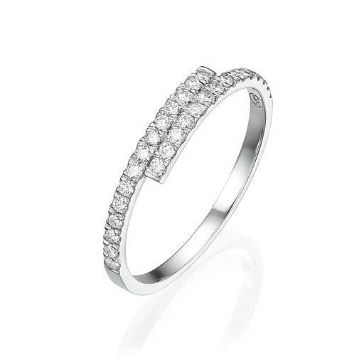 טבעת יהלומים דגם Inna