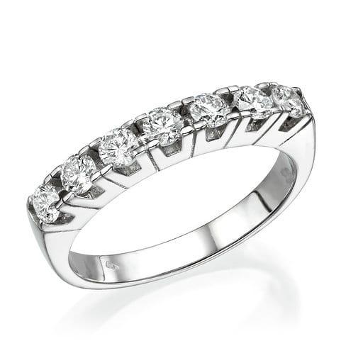 טבעת יהלומים 0.65 קראט במבצע!
