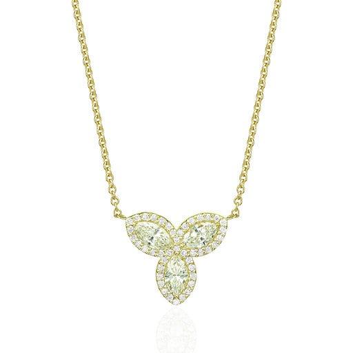 תליון יהלומים דגם Madison