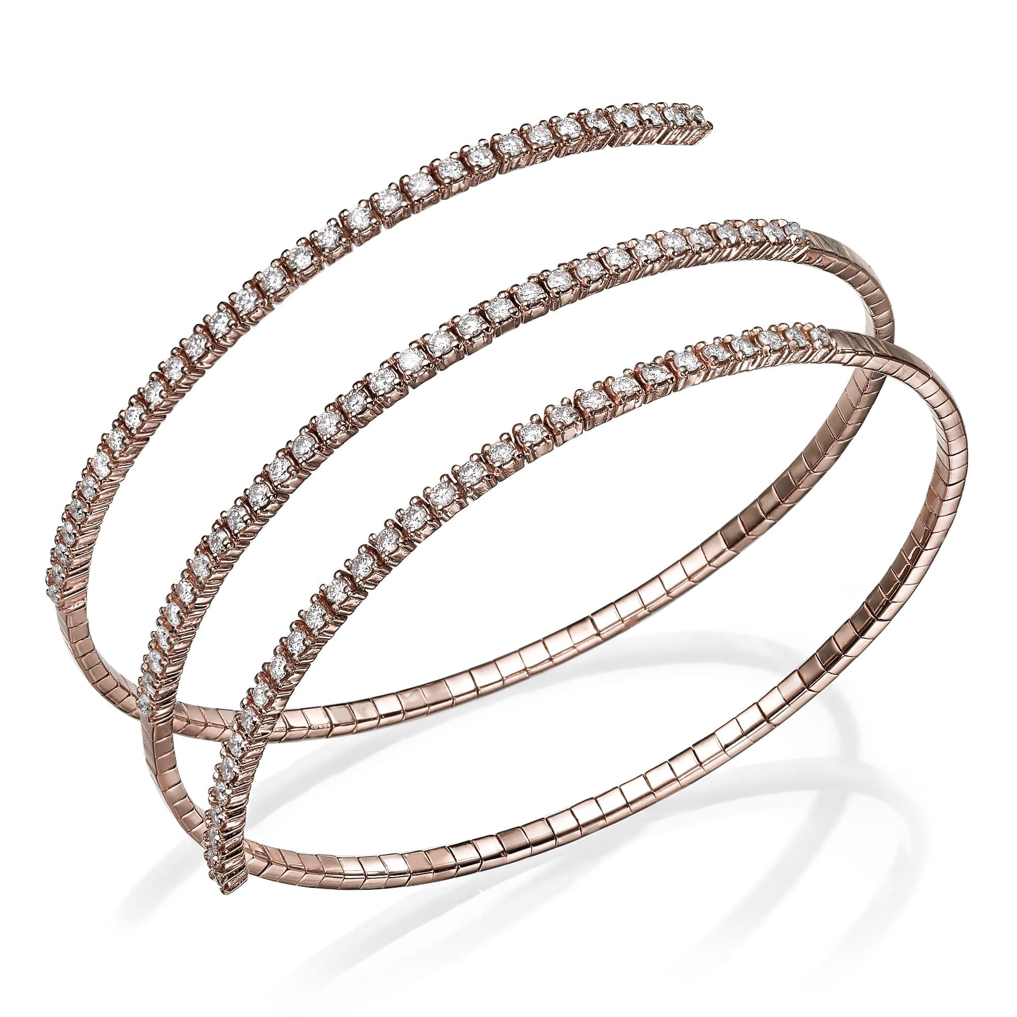 צמיד יהלומים דגם Doreen