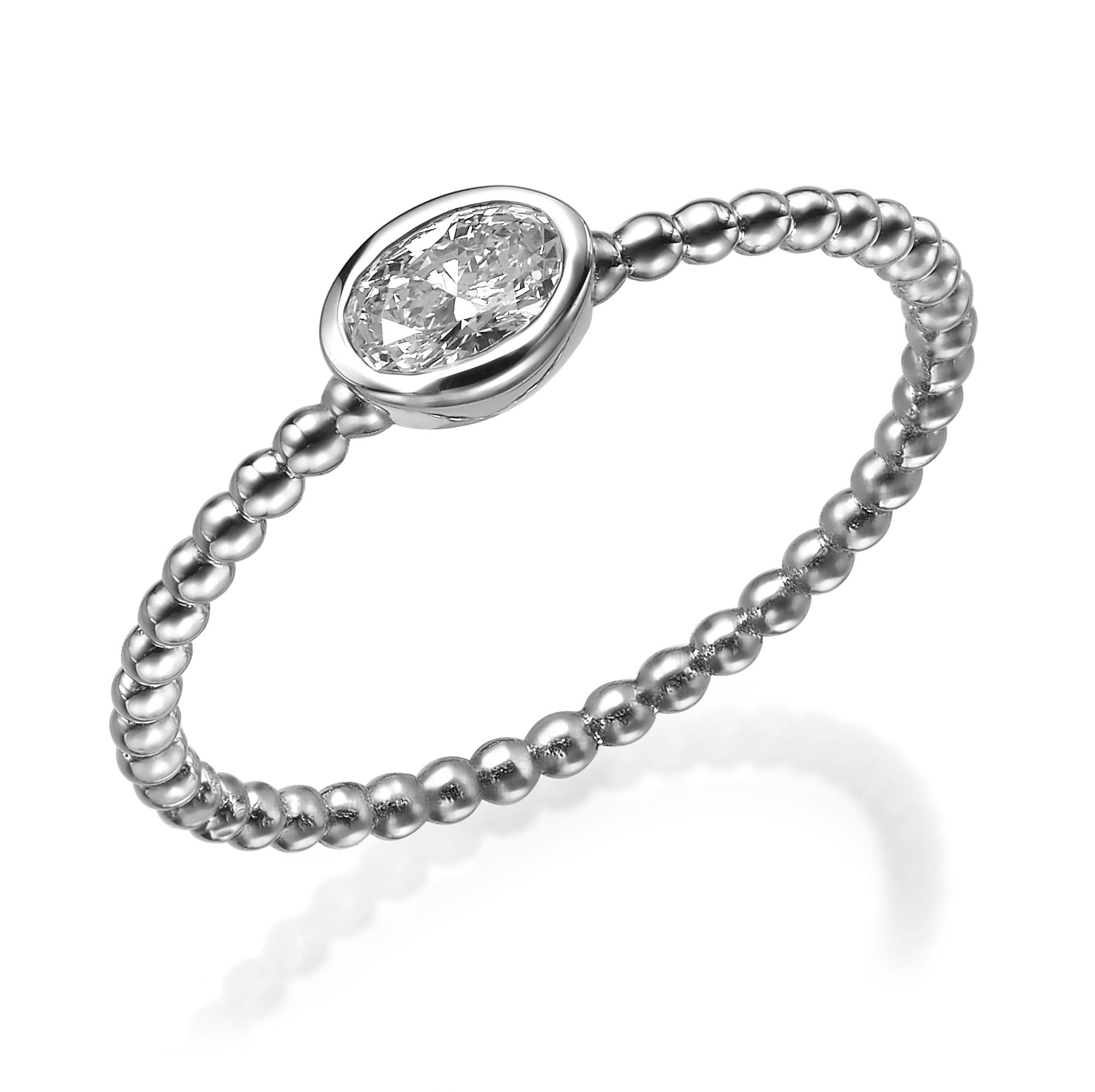 טבעת יהלום דגם Lexi