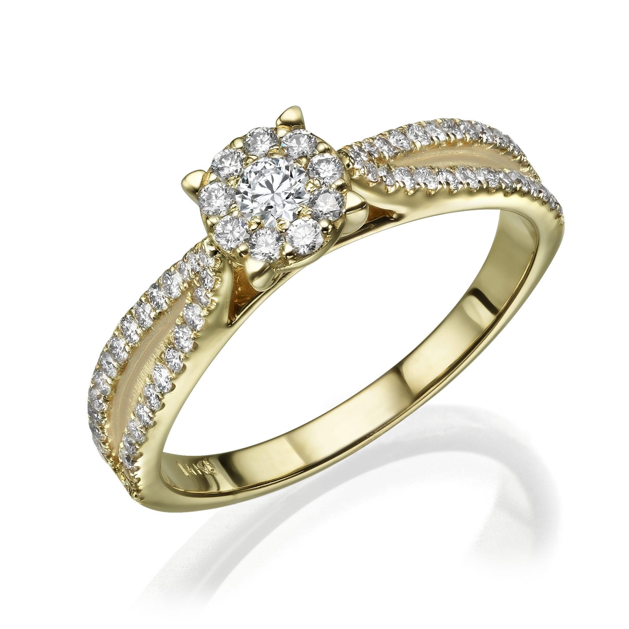 טבעת יהלומים דגם Chris ב-30% הנחה!!!