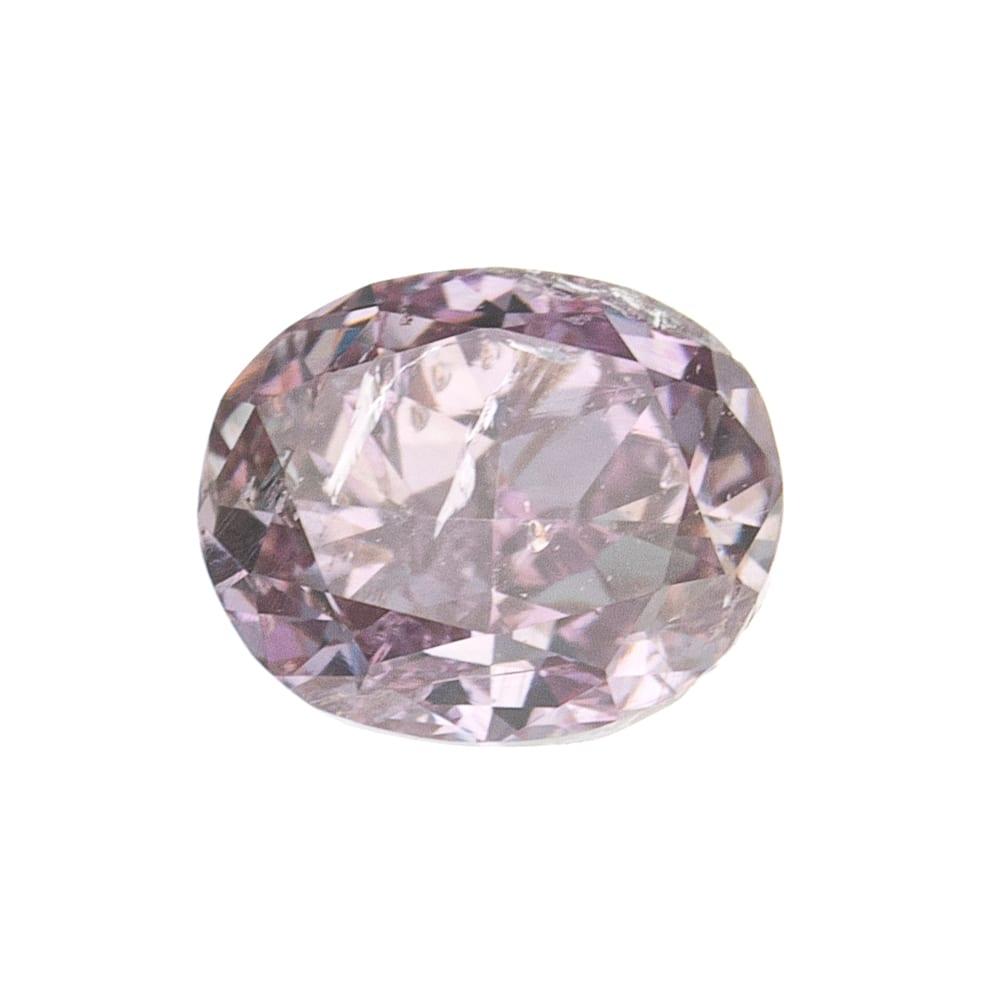 יהלום טבעי בגוון ורוד 0.13 קראט GIA