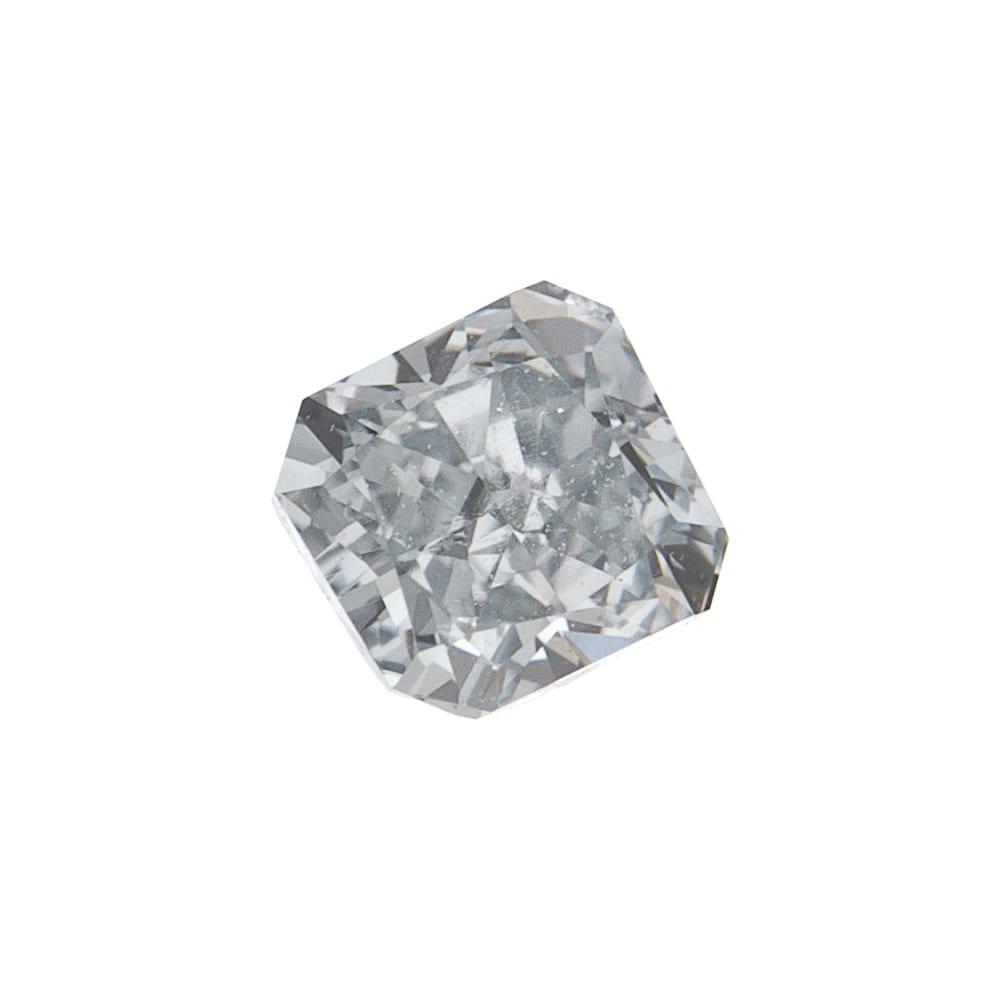 יהלום טבעי בגוון תכלכל נדיר 0.12 קראט GIA