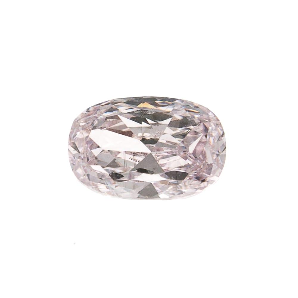 יהלום ורוד בהיר טבעי 0.19 קראט GIA