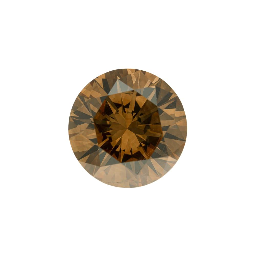 יהלום חום טבעי במשקל 4.48 קראט
