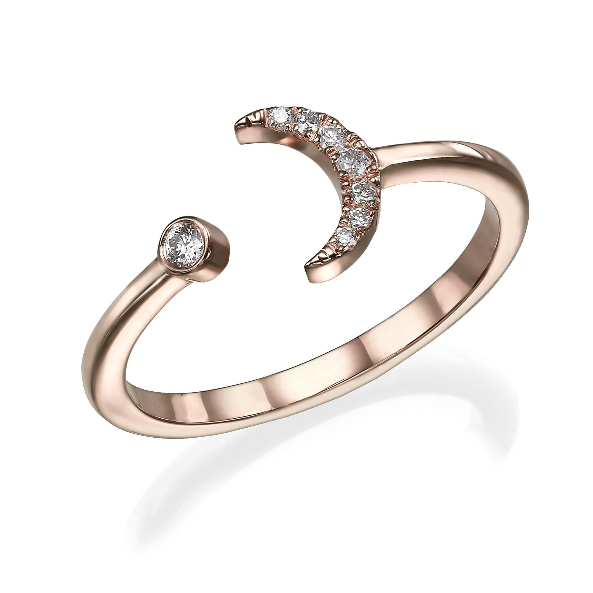 טבעת יהלומים דגם Negin