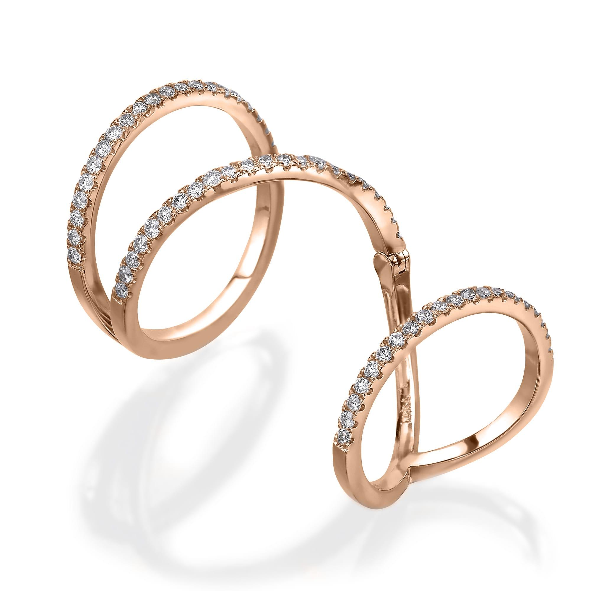 טבעת יהלומים דגם Morgan