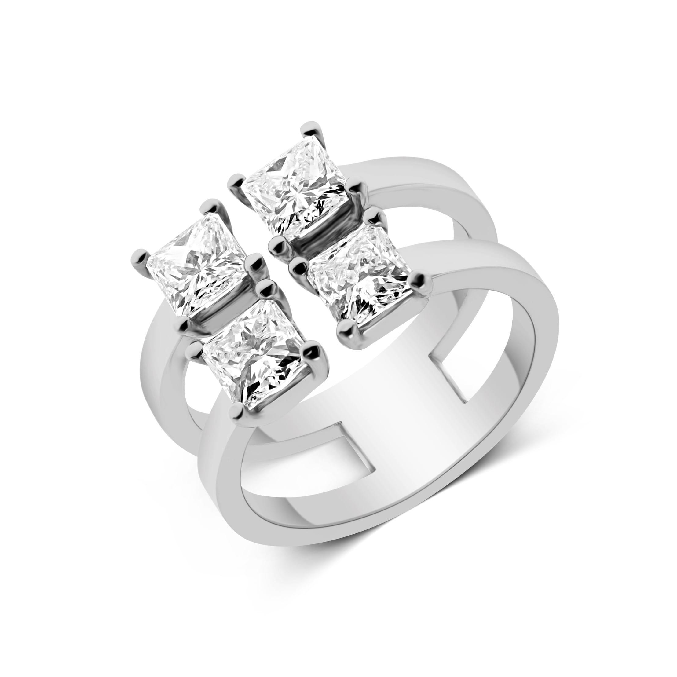 טבעת יהלומים דגם Linor