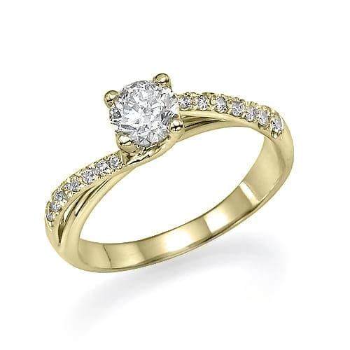 טבעת אירוסין דגם Maayan ב-40% הנחה!!!