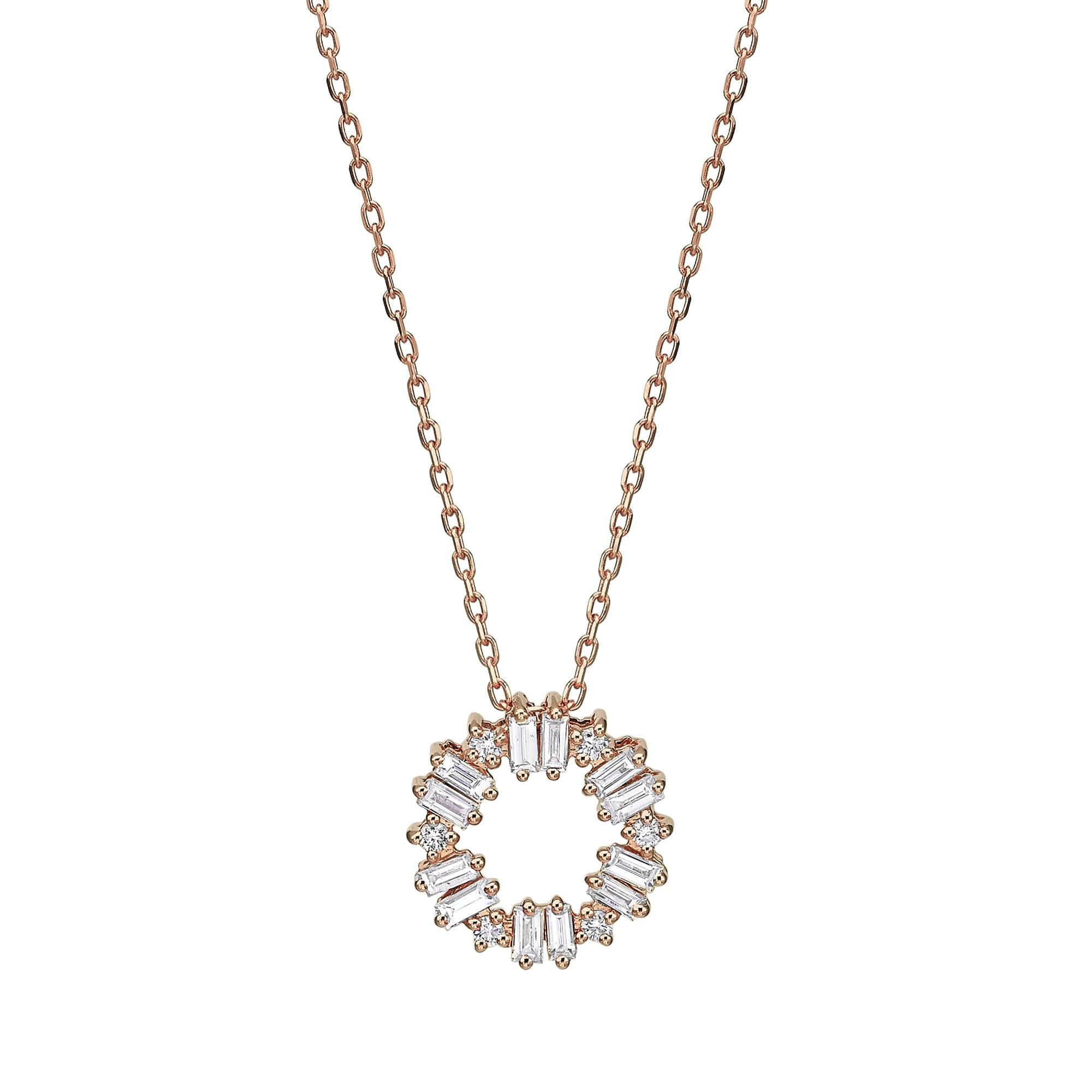 תליון יהלומים דגם Felicia