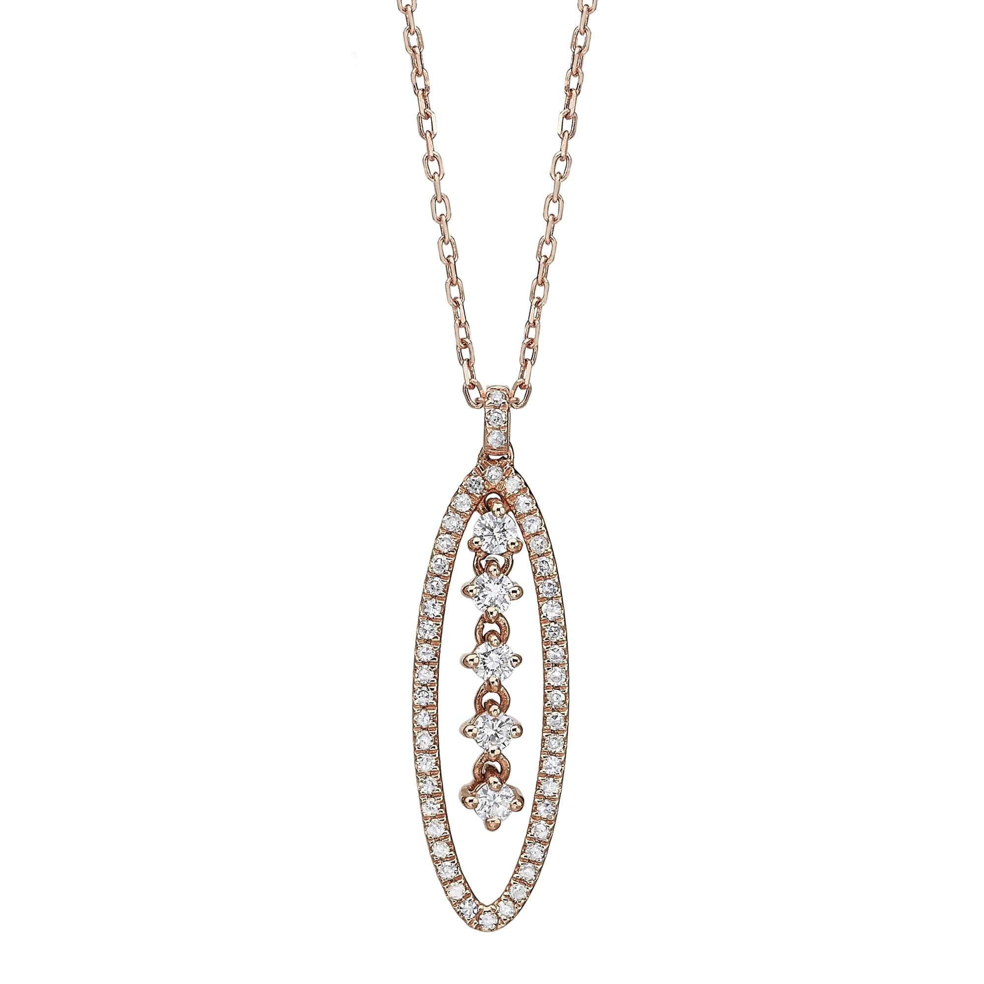 תליון יהלומים דגם Liza