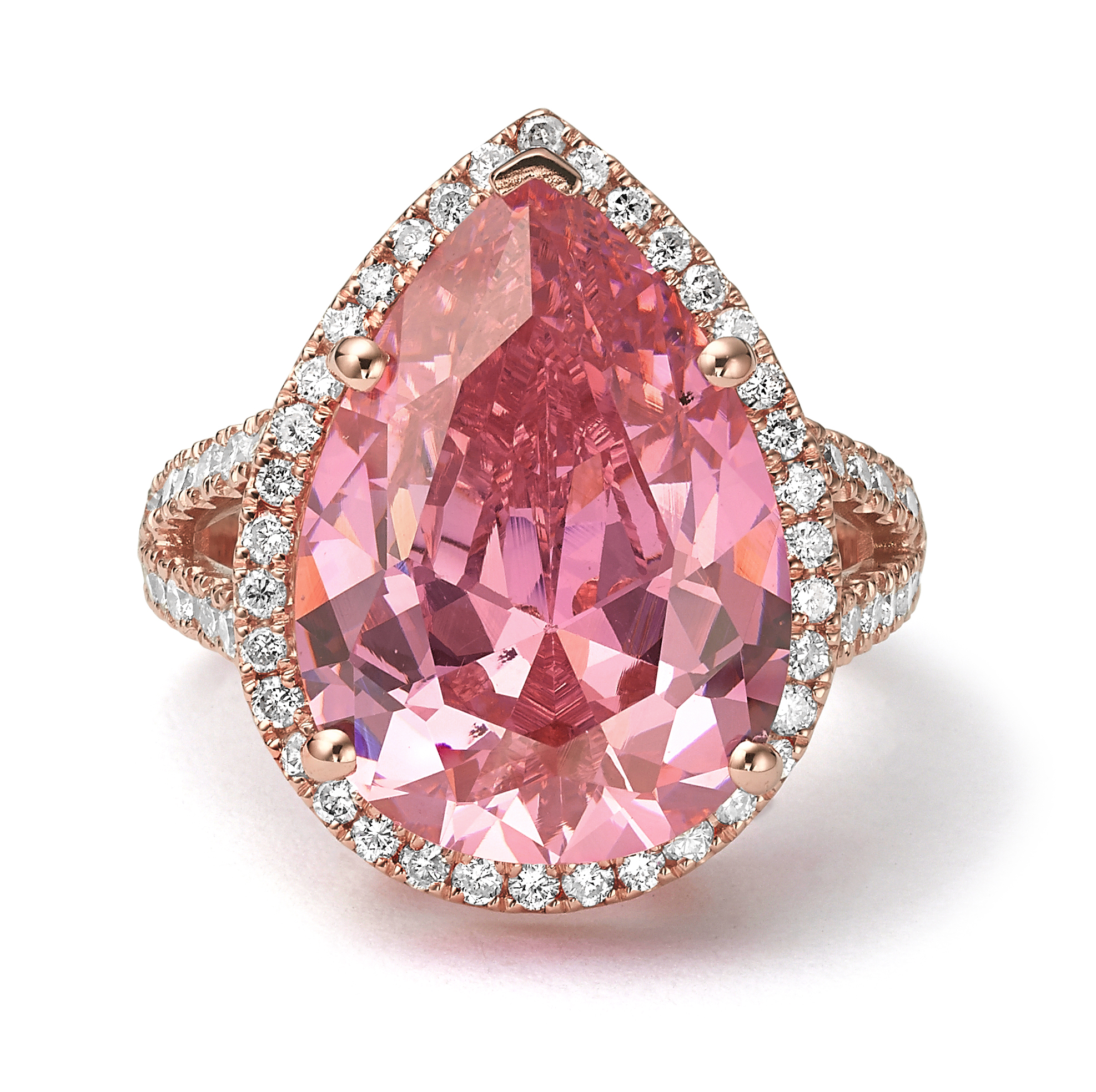 טבעת יהלומים דגם Caroline