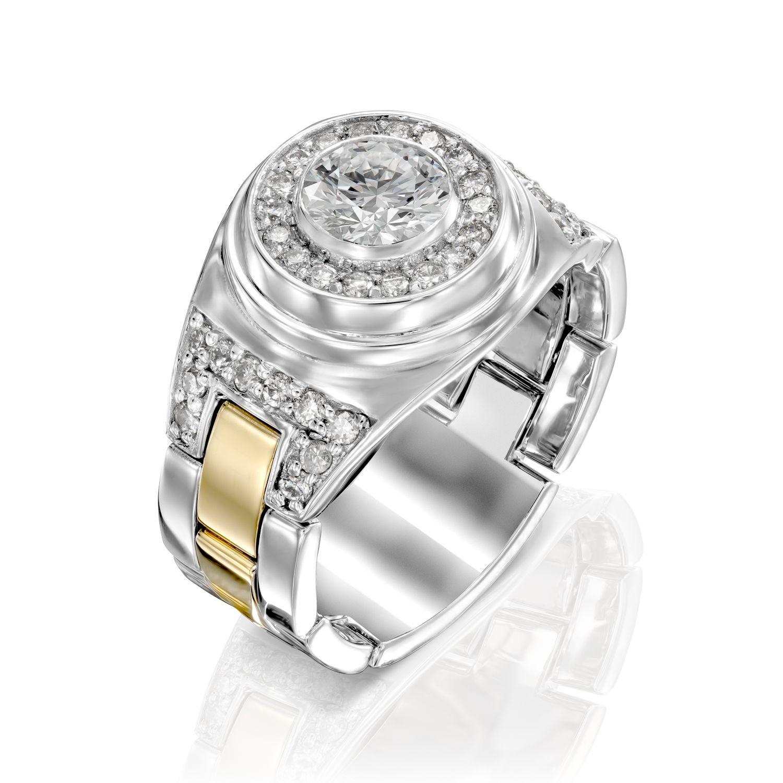 טבעת יהלומים דגם Michaelov
